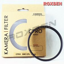 Camdiox 72mm CPRO NANO SMC Slim Pro CPL Circular Polarizing Filter for Hoya B+W