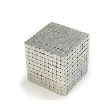 "1000pcs 1/8"" x 1/8"" x 1/8"" Cube 3x3x3mm Neodymium Magnets Fridge Craft N35 Neo"