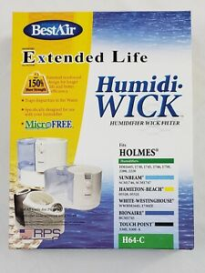 BestAir H64-C Extended Life Humidi-Wick Humidifier Wick Filter Brand New