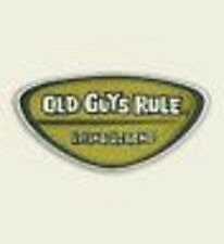 "OLD GUYS RULE "" LIVING LEGEND "" CLASSIC 2"" X 4"" EMBROIDERED FABRIC PATCHES"