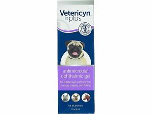 Vetericyn Plus Antimicrobial Ophthalmic Gel 3 Ounce