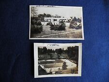 Pair Vtg BELLEVILLE Illinois Photos Turner's Swimming Pools Westhaven Club 1940s