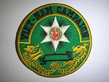 VIETNAM WAR CAMPAIGN (Chien Tranh Vietnam) Novelty Patch