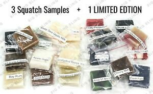 DR SQUATCH 4 Soap Samples - 1 FREE LIMITED EDITION FREE SAME DAY SHIP 12PM - USA