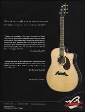 The Breedlove Pro Series D25 cutaway acoustic guitar ad 8 x 11 advertisement