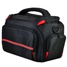 Large DSLR Camera Shoulder Bag Case For Nikon D3400 D3100 D3200 D3300 (Black)
