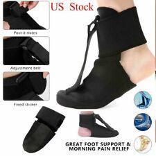 Adjustable Plantar Fasciitis Night Splint Foot Drop Brace For Heel Pain Relief