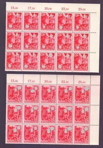 Deutsches Reich 1945 - 15 komplette Sätze MiNr 909/910 - Michel 1.200,00 € (050)