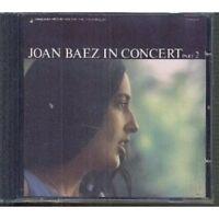 JOAN BAEZ - JOAN BAEZ IN CONCERT PART 2  CD NEU