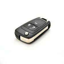 3 Buttons Folding Auto Remote Flip Key Shell Holder for Chevrolet Cruze