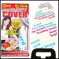 Ironing Board Cover Easy Fit ALL Cotton Padded Elastic Tie UNDERLAY Reflective