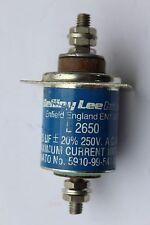 Belling Lee Intec Capacitor L2650 + integral square mount 0.25uf 250v AC 100A