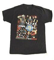 MMR BQ 2014 T Shirt Rob Zombie Dropkick Murphys Rock Concert Black SIZE L