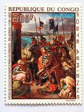 Congo tableau Prise de Constantinople par Delacroix  1970   NEUF ** PA 94 88M591