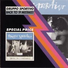 Gruppo Sportivo - Back To 19 Mistakes [New CD] Holland - Import