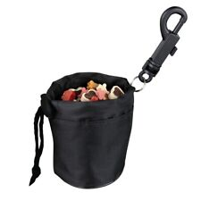 More details for black pet dog puppy cat pouch snack bag dog training food treat travel carrier