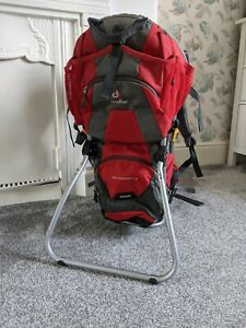 Deuter Kid Comfort 2 Baby Carrier Kid Carrier Backpack in Good Condition