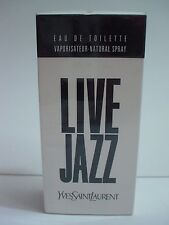 Yves Saint Laurent YSL Live Jazz Eau de Toilette Spray 50mL (1.6 OZ) Neu Folie