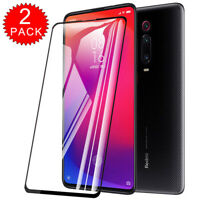 For Xiaomi Redmi K20 Pro Full Coverage Tempered Glass Screen Protector [2-Pack]