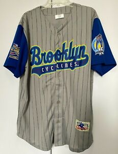 Brooklyn Cyclones Baseball Jersey 15 Year Anniversary Giveaway Rare Size XL 2016