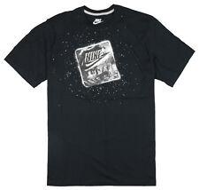 NIKE Futura Lunar T-Shirt sz S Small Black Moon Landing 90 Max Zero React QS