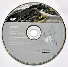 Audi A3 A4 A6 TT R8 RNS-E navigation DVD 2016/2017 Germany Austria Italy France