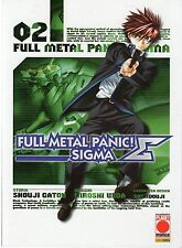 PLANET MANGA FULL METAL PANIC! SIGMA NUMERO 02