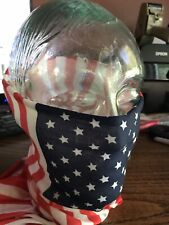 Face Mask/Scarf - American Flag