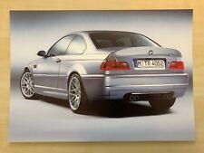 ***** BMW M3 CSL Fotodruck ( DIN A4 ) *****