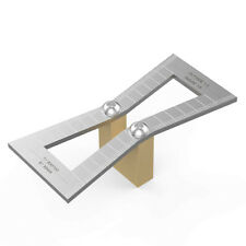 Dovetail Marker, Hand Cut Wood Joints Gauge Dovetail Guide Tool with Scale, D KC