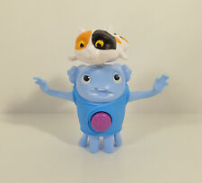 """2015 OH Blue Alien Boov & Pig the Cat 4"""" McDonald's Movie Action Figure #3 Home"""