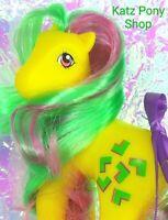 HQG1C Custom Vintage G1 Pretty Mane MLP Style Pony  🧡 PIZZAZZ 🧡 Artistry Girl!