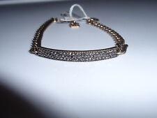 "Park Lane Jewelry, ""FRITZ"" Bracelet, Antique Gold, Crystals, NEW!!"
