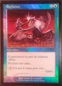 Exclusion PREMIUM / FOIL VF - French Exclude - Invasion - Mtg Magic