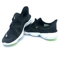Men's Nike Free RN 5.0 Running Shoes Black White Volt AQ1289-003 $100 All SIZES