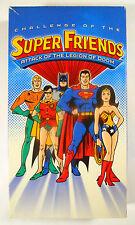 Super Friends - Attack of the Legion of Doom - Vintage VHS - 4 Episodes