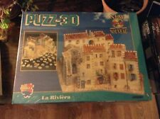 PUZZ 3D La Riviera - Fully Dimensional Puzzle 880 Pieces  New Sealed