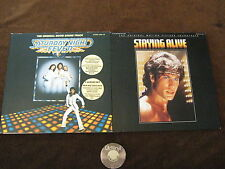 3 LP Staying Alive Original Motion Saturday Night Fever +Insert Ger. | M- to EX