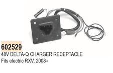 602529 RXV CHARGER RECEPTACLE FOR 48V DELTA-Q 2008-CURRENT EZGO ELECTRIC