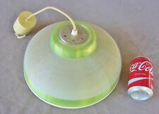 lampe suspension lustre vintage années 50 / 60