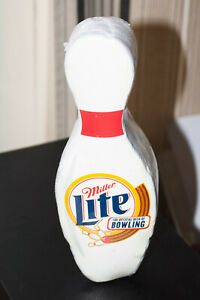 Rusty Wallace NASCAR T-Shirt Miller Lite Bowling Pin Shaped Package Unopened