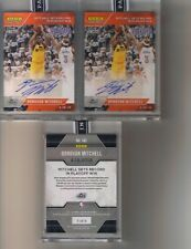 3) 2017 17/18 Panini Instant Donovan Mitchell Orange Auto Lot #/5 Rookie Jazz