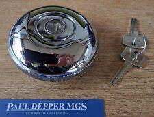 MG MGB/ MGB GT Period Chrome Vented Locking Fuel Cap (AKF1439)