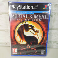 Mortal Kombat Deception PS2 NEW / SEALED (FOREIGN PACKAGING - CASE DAMAGED)