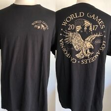 POLICE & FIRE DEPT. WORLD GAMES (2017) Los Angeles, California T-Shirt Size XL