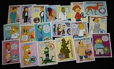 The Simpsons Bart Simpson Skybox Character Trading Cards 1994