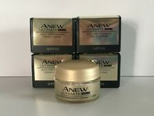 New Avon Anew Ultimate NIGHT Cream Trial Travel Size .50 oz. *Qty 4*