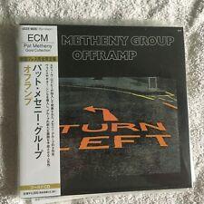 PAT METHENY OFFRAMP ECM 24kt Gold CD JAPAN Mini-LP OBI NEW  NEW 1ST ISSUE
