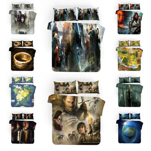 3PCS The Lord Of The Rings Bedding Set Duvet Cover Pillowcase Comforter Cover