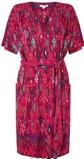 Monsoon Lauren Ikat Tunic Dress Uk 18 Pink  Multi Coloured Bnwt Summer Boho
